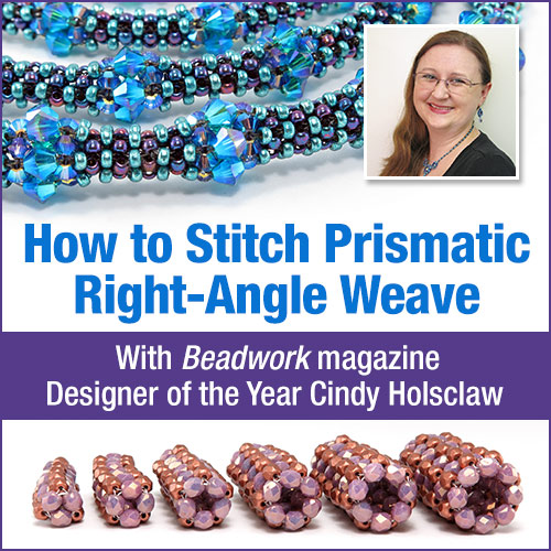How to Stitch Prismatic Right-Angle Weave