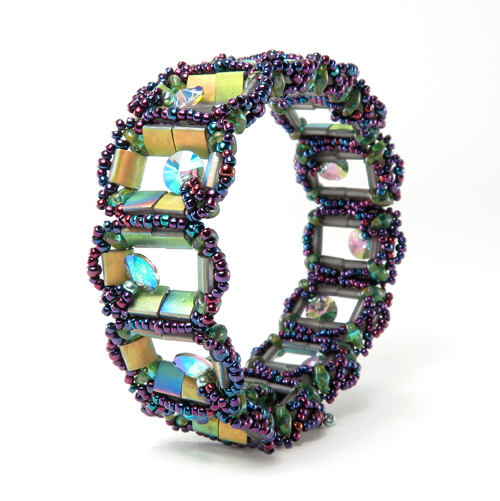 Botanical Cells Bracelet by Cindy Holsclaw