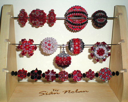 Sian Nolan's Red Hot Beaded Beads