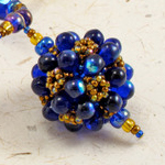 Teardrop Bubbles Beaded Bead