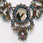 Twirling Waltz Necklace by Cindy Holsclaw