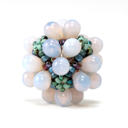 Bubble Box Beaded Bead