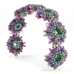 QuadraTile Sweet Bun Bracelet by Cindy Holsclaw