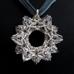Sun Star Pendant by Cindy Holsclaw